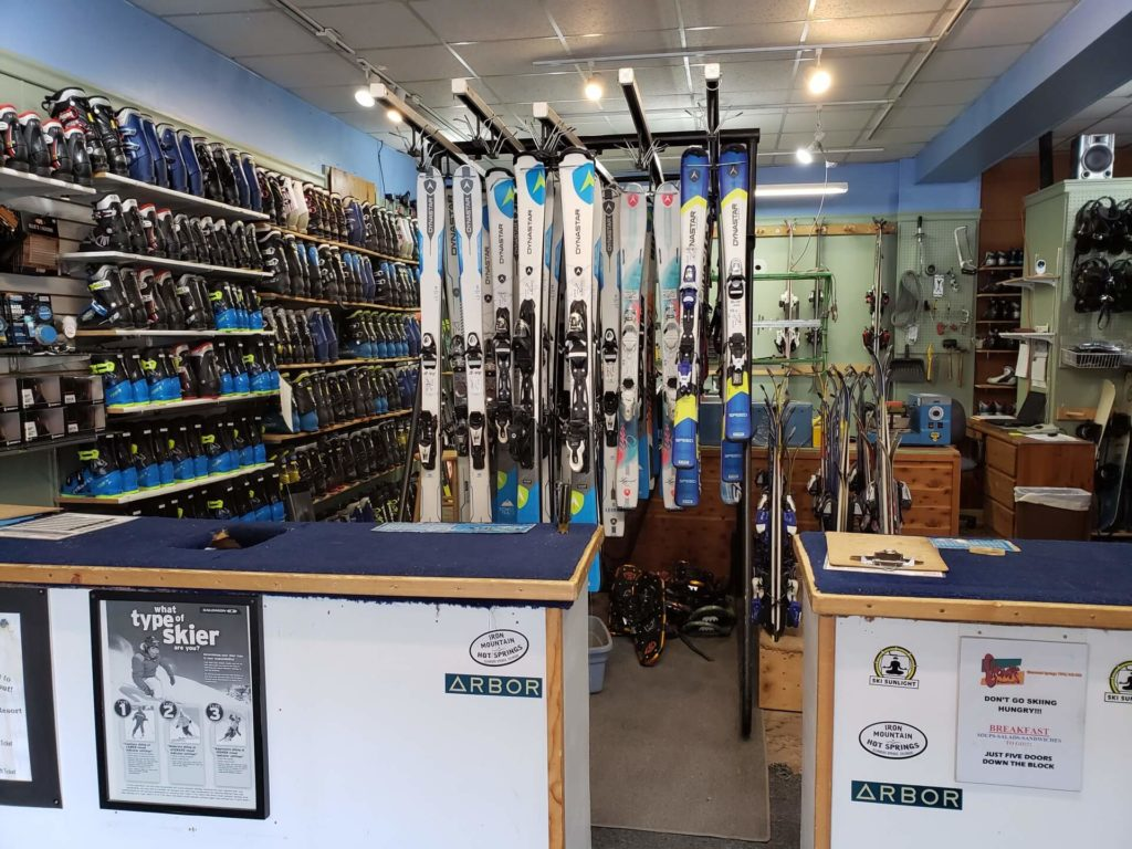 Blue Sky Ski Rental Shop