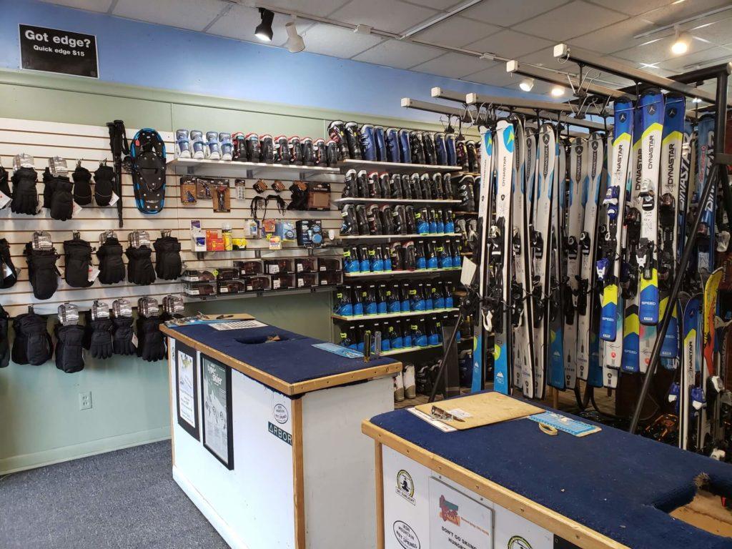 Blue Sky Ski Rental interior